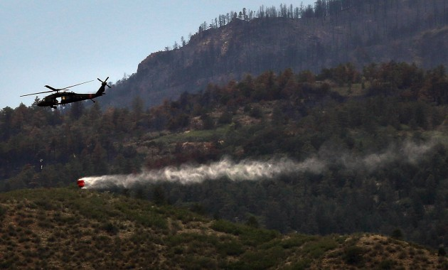Major Wildfire Forces Evacuation Of Over 30,000 Near Colorado Springs