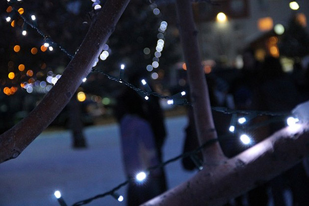 Holiday Square Tree Lighting at Conwell Park in Casper