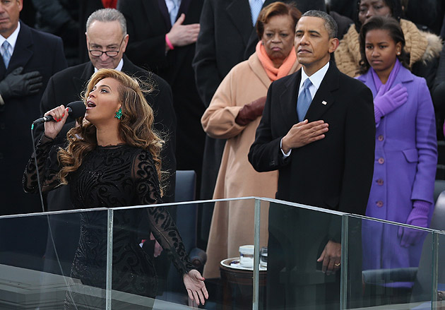 Beyonce-Inauguration