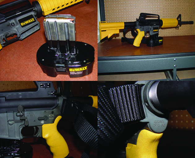 Dewalt Assault Nail Gun Unfortunately Does Not Exist In Real Life