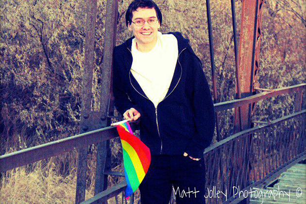Openly Gay Worland Student Matt Jolley