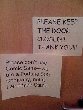 Bad Font