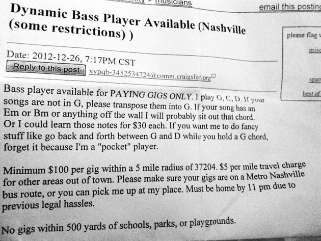 Bad Bass Player