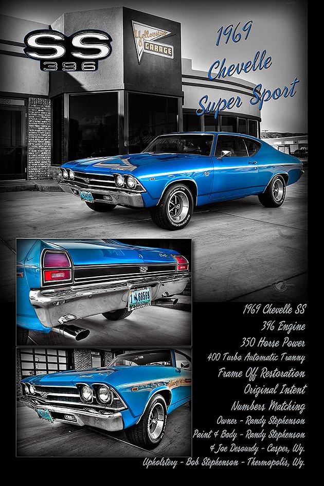 Randy Stephenson 1969 Chevy Chevelle SS