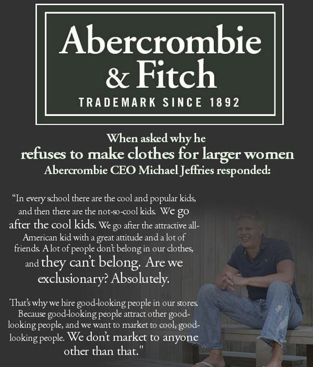 Abercrombie & Fitch Response