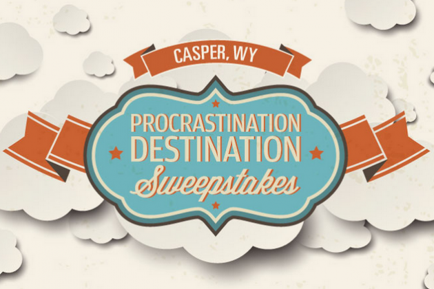 Procrastination Destination Sweepstakes