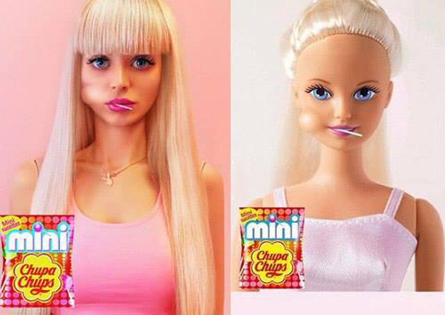 Angelica Kenova- Barbie Doll-