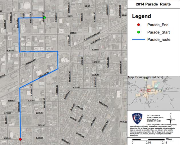 2014 Parade Route
