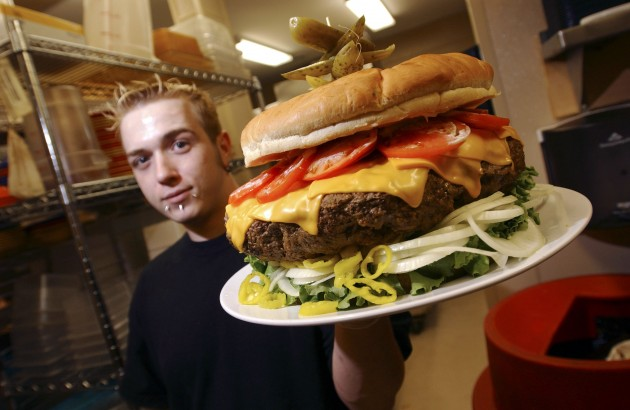 Burger Wars Escalate As Restaurant Rolls Out 15-Pound Offering